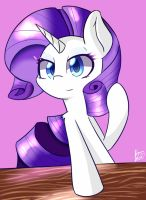 Rarity by kawaiipony2