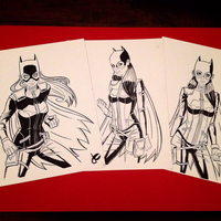 Batgirls by JustinCoffee