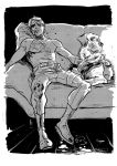 One Daredevil and his dog by Newtasty