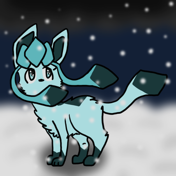 Glaceon by KatrinaTheDog
