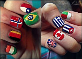 Countries At Your Fingers by TheWorldIsLove