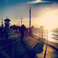 Huntington Beach Pier by Cocohorse