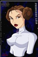 Princess Leia by Icemaxx1 by THE-Darcsyde
