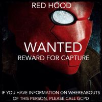 Red Hood Wanted Poster by Cadmus130