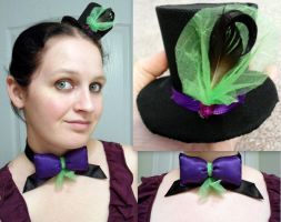 matching bow and top hat by RaheHeul
