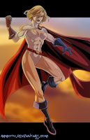 P - is for Powergirl by Ammotu