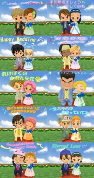 Harvest Moon Couples by ChubiSweetCake