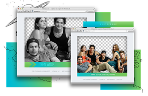 Pack Png 897 // Teen Wolf. by ExoticPngs