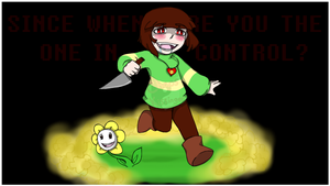 Undertale Chara wallpaper by Chaos55t