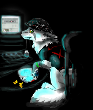 computer and DS by timmy-gost