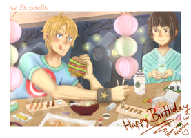 Happy Birthday - America in Japan by Shizunette