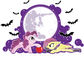 Apple for Flutterbat? by Chii---Chan