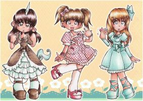 lovely lolitas by FloksyLocksy