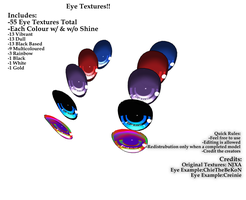 MMD DL - Eye Textures by RYuinkaPro