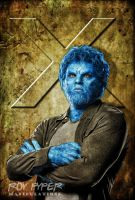 X-Men Days of Future Past: Beast: BuzSim Edit by nerdboy69