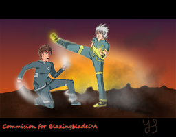 Commision for BlazingbladeDA by Johny-Kun