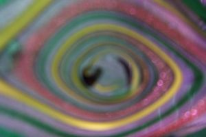 Abstract in the blur by paintresseye