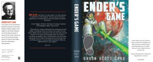 Ender's Game book cover by SarahCascadden