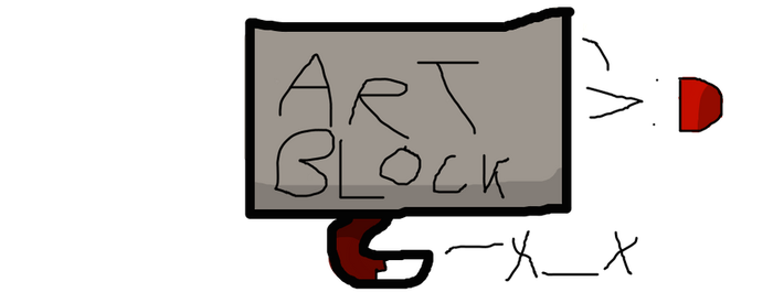 Art Block sux by cantemailpics