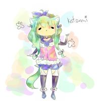 [Contest Entry] Katsumi by OhaiderePanda