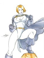 Powergirl by danielhdr
