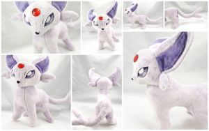 Espeon Plush 2.0 by BeeZee-Art