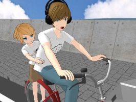 Happy Wheels MMD by hadafifi