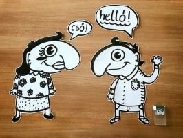 Hello by wildgica