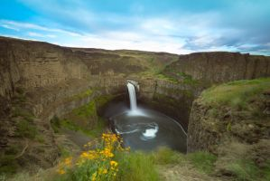 Floral Falls Palouse by jasonwilde