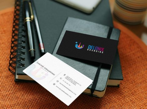 Delonix Name Card by delonixbranding