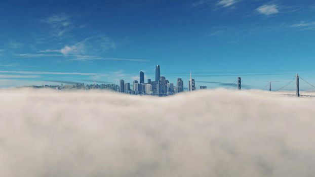 GamePhotoProject - 25# San Francisco fog by LucienWittwer