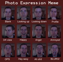 Photo Expression MEME by ChavisO2