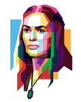Cersei Lannister in WPAP by aryakuza