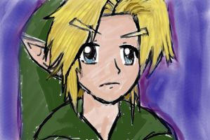 Young Link -coolored- by TheLegendOfLink