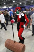 Harley Quinn ready for a Fight by VoiceofSupergirl