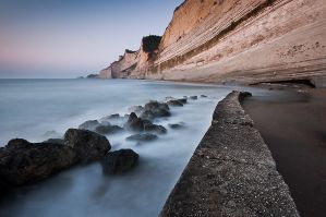 Sunset beach - Corfu by matios