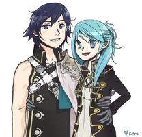 Chrom x FeMU by kurowl