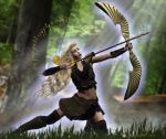 Elven Archer by Kachinadoll