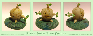 Great Deku Tree Sprout by tavington