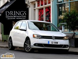 Vw Golf VI. Facelift by x-tomi