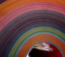 colored paper by awjay