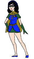 Bluejay Outfit #1 (Under The Red Hood) by SailorTrekkie92