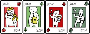 Playing cards - Jacks by catiniata