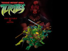 TMNT THE RETURN OF AKUMA 2 by Darkness-Man