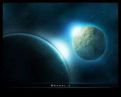 Wallpaper Space by poxel
