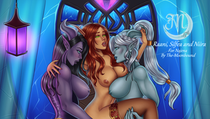 C: Draenor nights by The-Moonbound