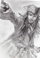Captain Jack Sparrow by verrykt