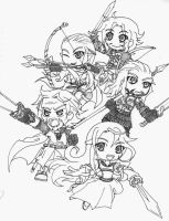 mighty warriors 3 by SkyDragonElements