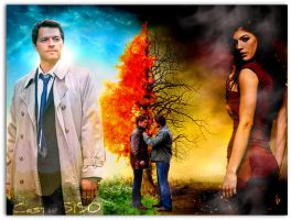 Heaven and Hell redone by Castiel5150