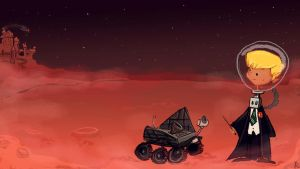 Roaming Mars by Prydester
